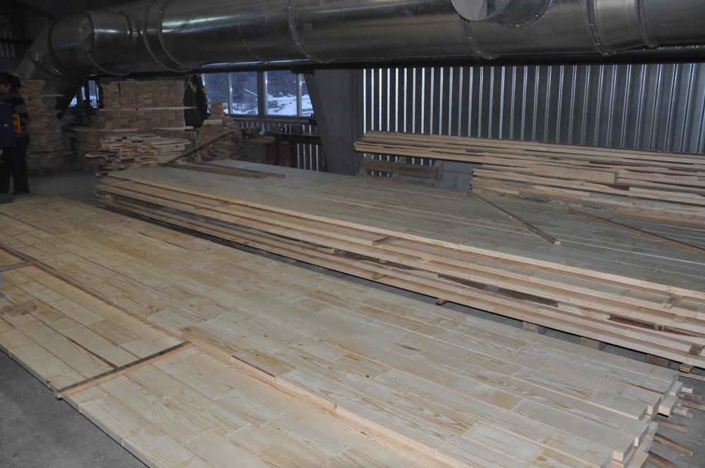Производство бруса для деревянных окон
